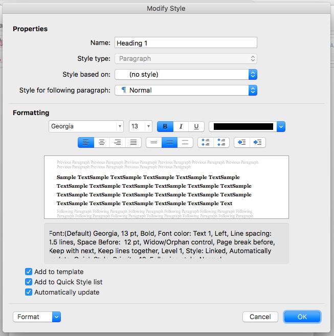 Bild: Hur man sparar stilen i Mac