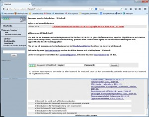 Hankens WebOodi